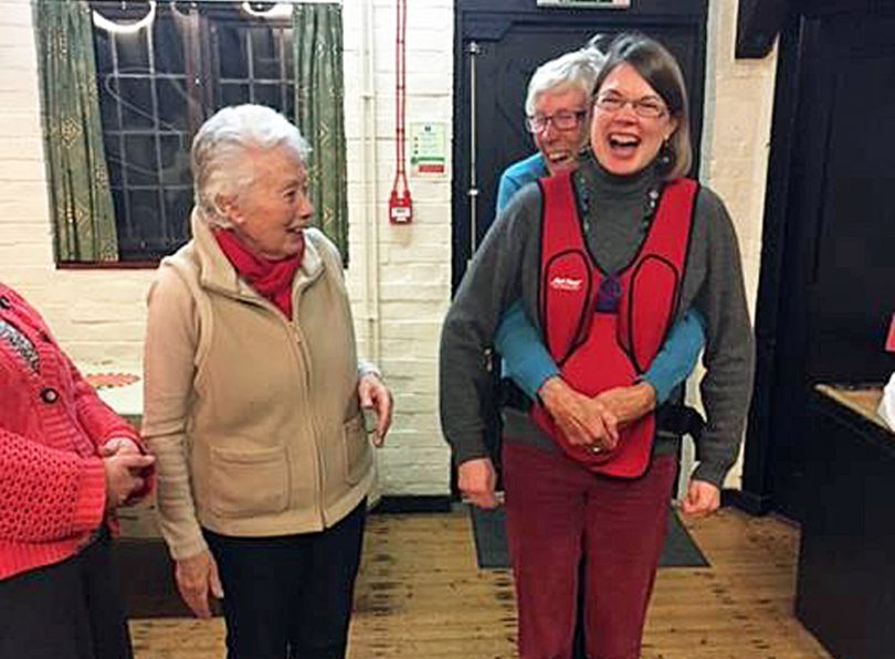 Chawton WI on 1st Aid Training
