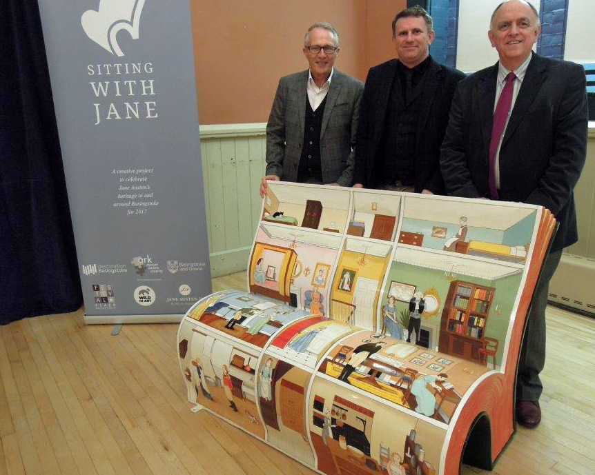 The Chawton bench is being sponsored by Tony Costigan and Dean Phillips (EHDC) and county councillor Andrew Joy (HCC)