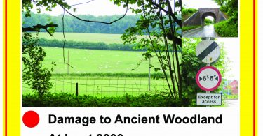 Chawton Park farm Poster A4